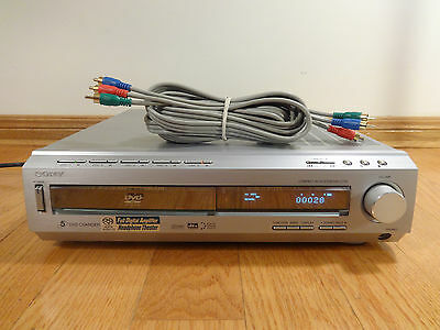 Sony DAV-C700 5-DVD CD Changer Compact A/V System RCA TESTED 100% Works Great!