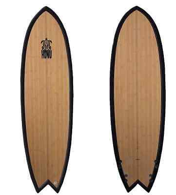 Retro Fish  Surf - Planche Surf 6'4 - Epoxy finition boisee