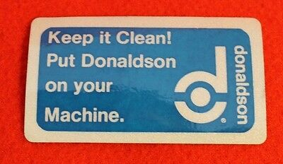 Donaldson Keep It Clean Coal Miner Decal