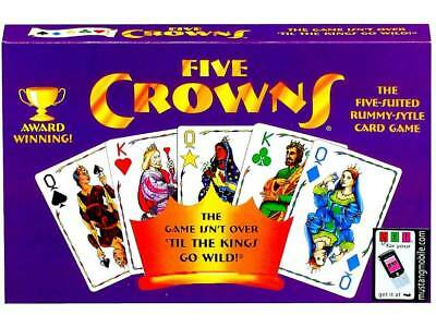 Five 5 Crowns Family Card Game Birthday Xmas Gift More Fun Board Games in store