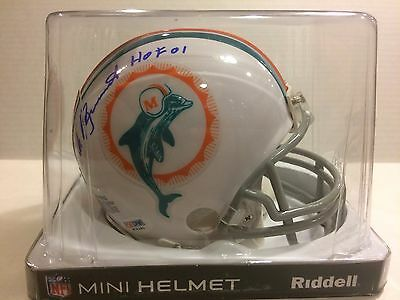 NICK BUONICONTI Auto Mini Helmet PSA/DNA AUTHENTICATED Signed DOLPHINS
