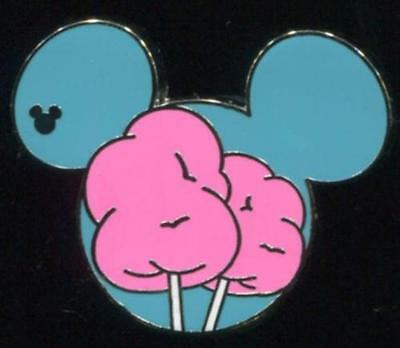 DLR 2015 Hidden Mickey Food Cotton Candy Disney Pin 108535