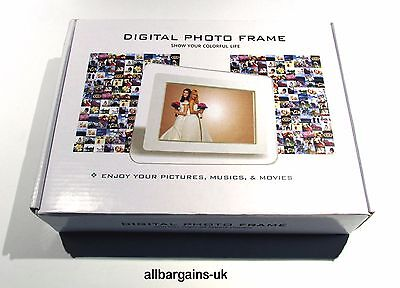 "7"" Digital Photo Frame - Use to Advertise & Promote New Stock in Shops & Markets"