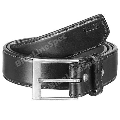 "5.11 TACTICAL 1.5"" Casual Leather Belt for Holster Concealed Carry BLACK MEDIUM"