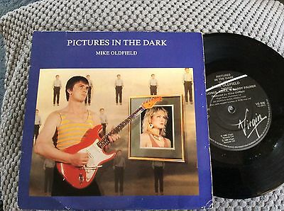 "MIKE OLDFIELD UK 1985 7"" vinyl Single record  Pictures In The Dark    Ex"