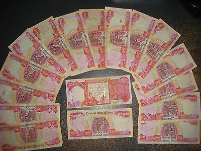 Iraqi dinar 1 x 25,000 note genuine authentic circulated good condition IQD