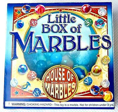 Little Box of Marbles. Traditional Game. Marble Games.