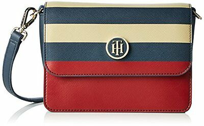 (TG. 50 cm) Midnight / Scooter Red / Oatmeal Tommy Hilfiger Honey Flap Crossover