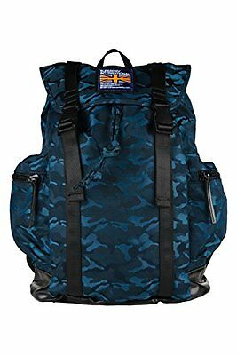 (TG. 60 cm) Teal (AB6) Superdry Camo City Breaker Holdall Zaino Casual, 60 cm, T