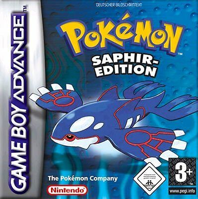 Nintendo GBA Game Boy Advance Spiel POKEMON SAPHIR EDITION