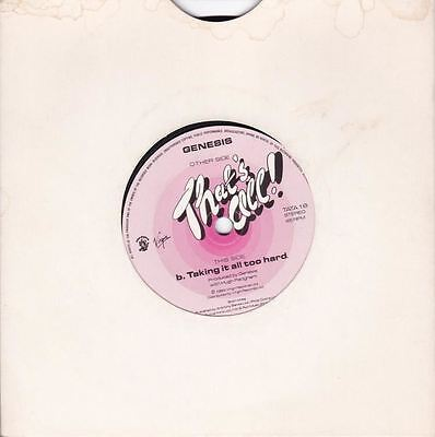 """That's All/Taking It All Too Hard 7"""" : Genesis"""