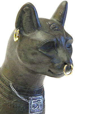 "Art Egypt "" the Gayer Anderson Cat "" Sculpture Figure 20043H"