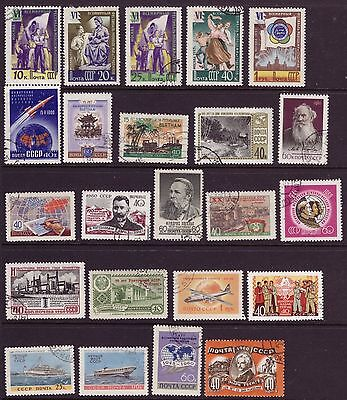Russia 1956-1960 CCCP USSR stamps OLD CTO Used Rare Mix Sets