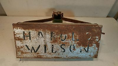 Antique Century Post Horse Mail Delivery Cast Iron Mailbox Tecumseh, MI - Cool!
