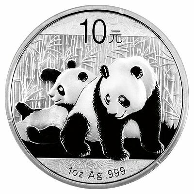 China Gold Coin Medal 2010 Silver Plated Panda Commemorative 10 yuan¥1 ounce oz