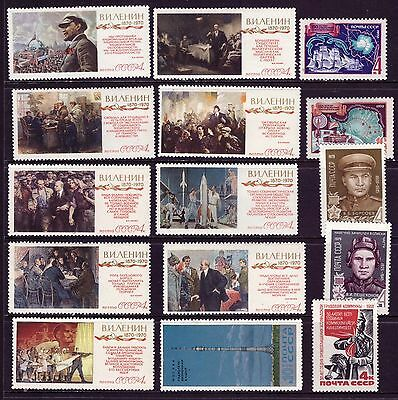 RUSSIA OLD SETS mix USSR CCCP MNH from 1970 Lenin