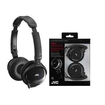 New Jvc Noise Cancelling Headphones With Retractable Cord Hanc120