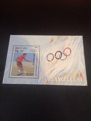 LAOS 1983 OLYMPIC GAMES LOS ANGELES (1984) (1st Issue) U/M M/S