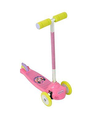 New Disney Minnie Move N Groove Kids Girls 3 Wheel Push Scooter Toy Gift