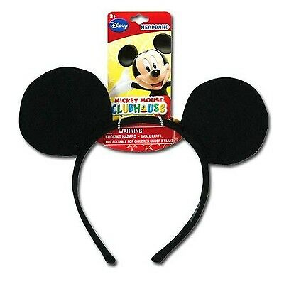 Genuine UPD Mickey Mouse Classic Ear Shaped Headband Disney Official Licensed...