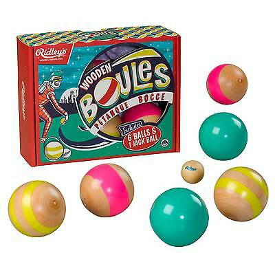 Wooden Boules - Ridleys Outdoor Range by Wild & Wolf