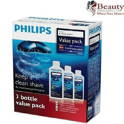 New Philips Jet Clean Solution with Cool Breeze Scent 900ml 3x300ml Pack of 3