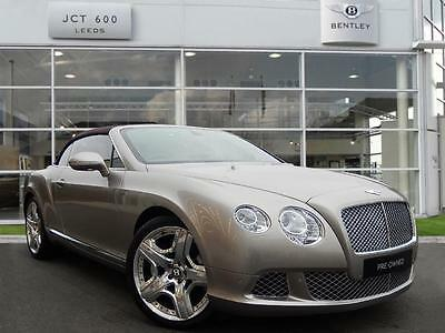 2013 Bentley Continental GTC 6.0 W12 Speed 2dr Auto Automatic Convertible