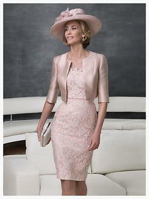 designer dress and jacket mother of the bride outfit