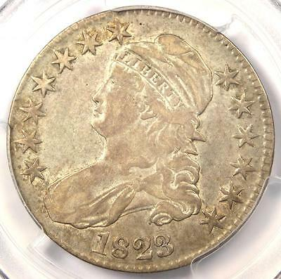 1823 Capped Bust Half Dollar 50C - PCGS VF30 - Rare Certified Coin!