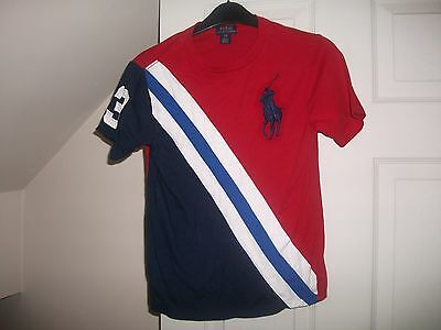 Boys Polo by Ralph Lauren Big Pony cotton T-Shirt Age 8 Years
