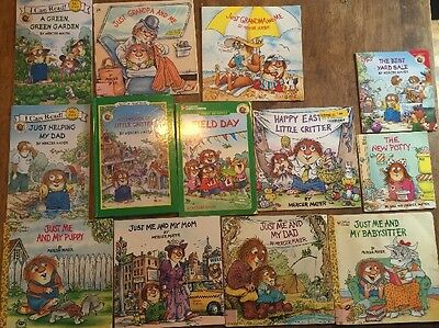 Little Critter Lot Of 13 Books One Hardcover With 4 Stories