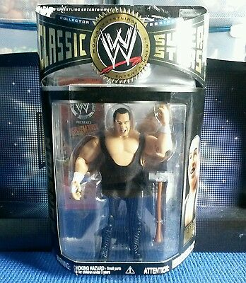 Gorilla Monsoon Classic Superstars Series Boxed WWE Jakks Wrestling Figure