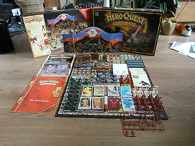 Very Rare HeroQuest Advanced Quest Edition - Unpainted