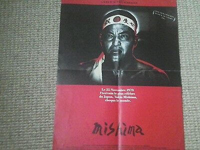 Mishima Original vintage French film poster 1985 Paul Schrader