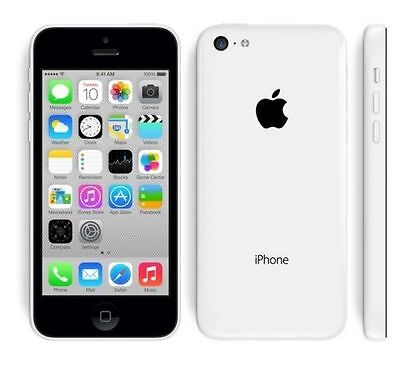 Apple iPhone 5C A1507 8GB 8MP Factory Unlocked 4G LTE Mobile Smartphone White