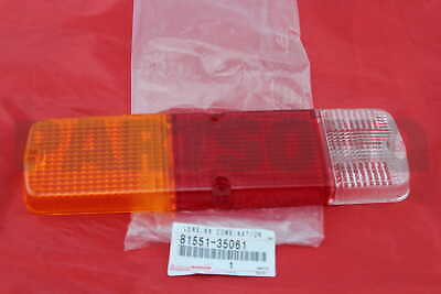 8155135061 Genuine Toyota LENS, REAR COMBINATION LAMP, RH 81551-35061