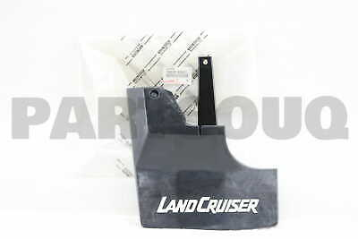 7660890A01 Genuine Toyota MUDGUARD SUB-ASSY, QUARTER PANEL, REAR LH 76608-90A01