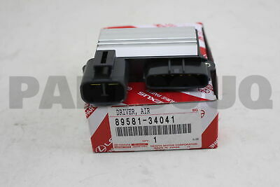 8958134041 Genuine Toyota DRIVER, AIR INJECTION CONTROL 89581-34041