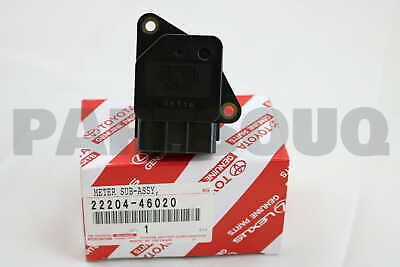 2220446020 Genuine Toyota METER SUB-ASSY, INTAKE AIR FLOW 22204-46020