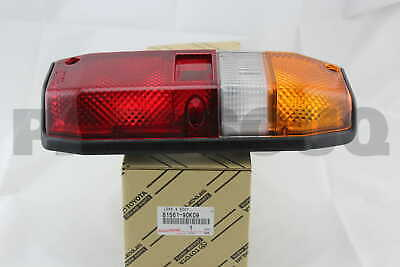 8156190K09 Genuine Toyota LENS, REAR COMBINATION LAMP, LH 81561-90K09