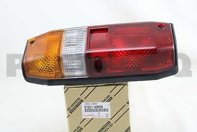 8155190K09 Genuine Toyota LENS, REAR COMBINATION LAMP, RH 81551-90K09