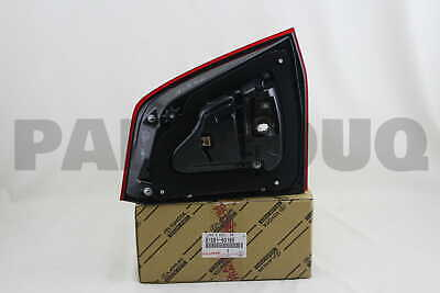 8158160180 Genuine Toyota LENS AND BODY, REAR LAMP, RH 81581-60180