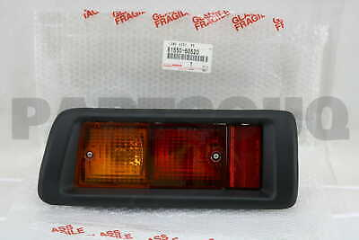 8155060520 Genuine Toyota LAMP ASSY, REAR COMBINATION, RH 81550-60520