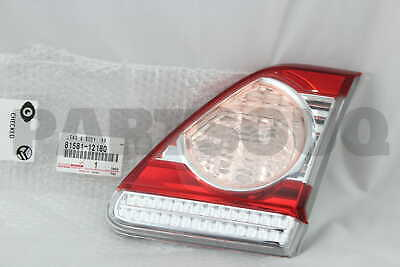 8158112180 Genuine Toyota LENS AND BODY, REAR LAMP, RH 81581-12180