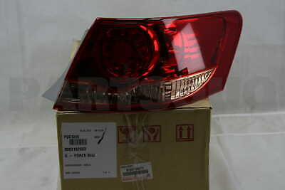 8155106271 Genuine Toyota LENS & BODY, REAR COMBINATION LAMP, RH 81551-06271