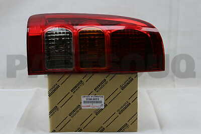 815600K010 Genuine Toyota LAMP ASSY, REAR COMBINATION, LH 81560-0K010