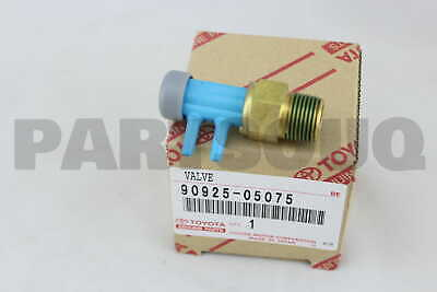 9092505075 Genuine Toyota VALVE, BIMETAL VACUUM SWITCHING, NO.1 90925-05075