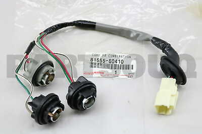 8155560410 Toyota SOCKET & WIRE SUB-ASSY, REAR COMBINATION LAMP, RH/LH