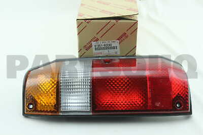 8156160290 Genuine Toyota LENS, REAR COMBINATION LAMP, LH 81561-60290