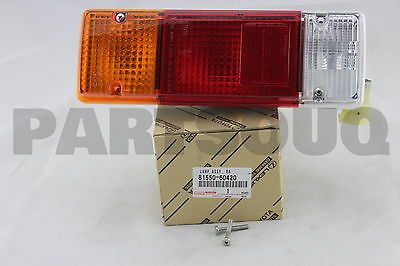 8155060420 Genuine Toyota LAMP ASSY, REAR COMBINATION, RH 81550-60420